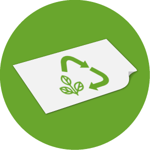 Nachhaltige Rettungsdecke - COMPOSTABLE