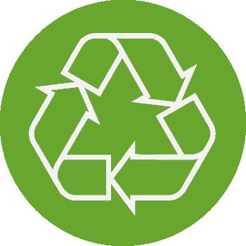 Profitieren Sie von unserem Service, inklusive Recycling