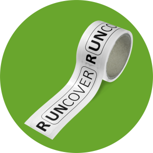 RUNCOVER Blanket Label